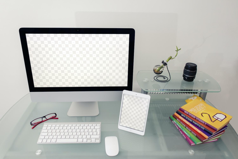 Desktop Device Mockup 3