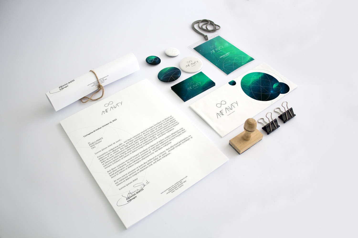 Stationery Mockup 5 by Original Mockups on Original Mockups