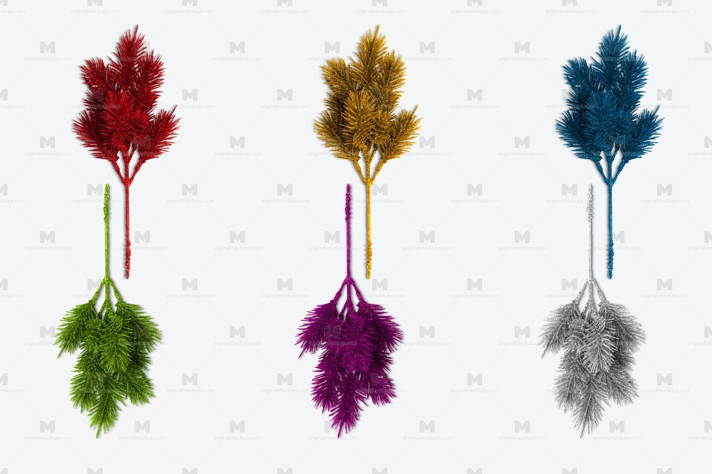 Christmas Pine Branch Isolate by Original Mockups on Original Mockups