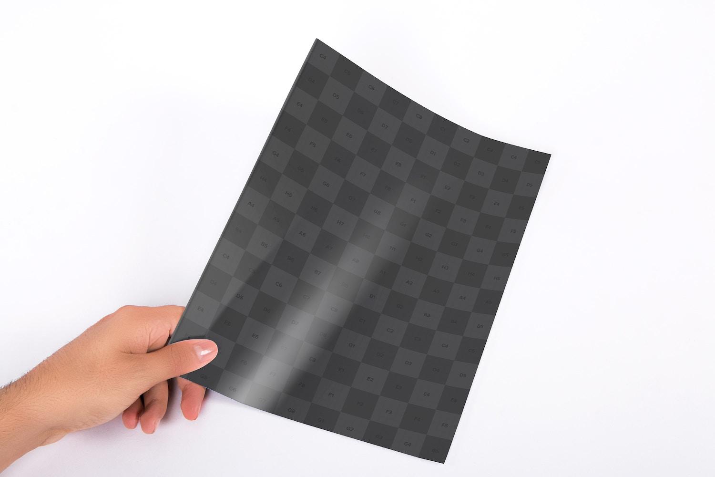 Letter Booklet Cover Mockup 01