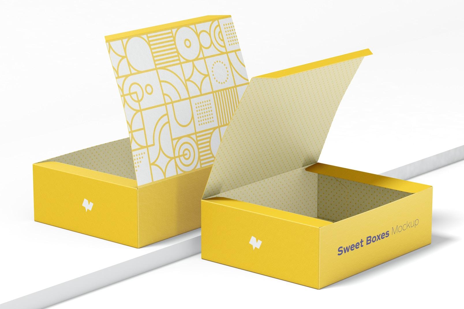 Sweet Boxes Mockup