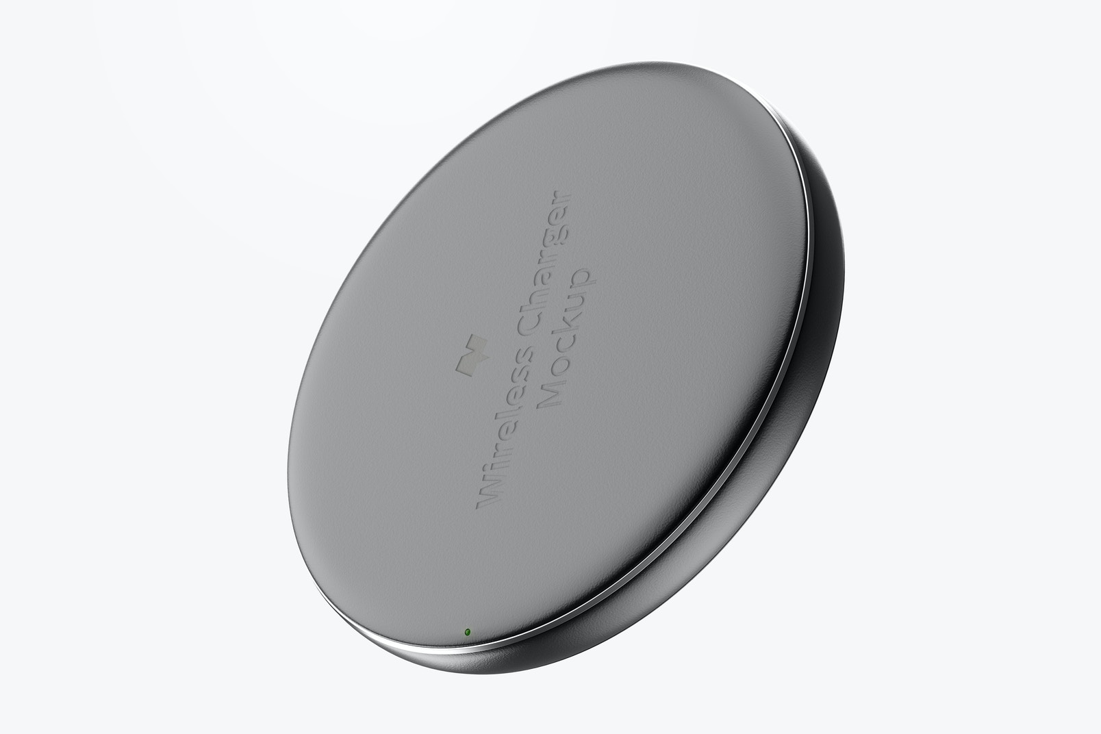 Wireless Charger Mockup, Floating