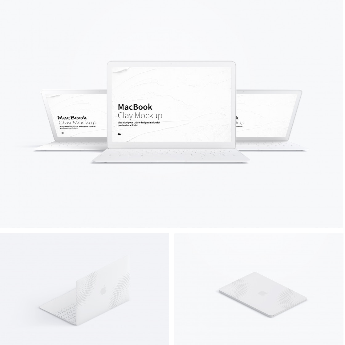 Clay Macbook Mockups by Original Mockups on Original Mockups