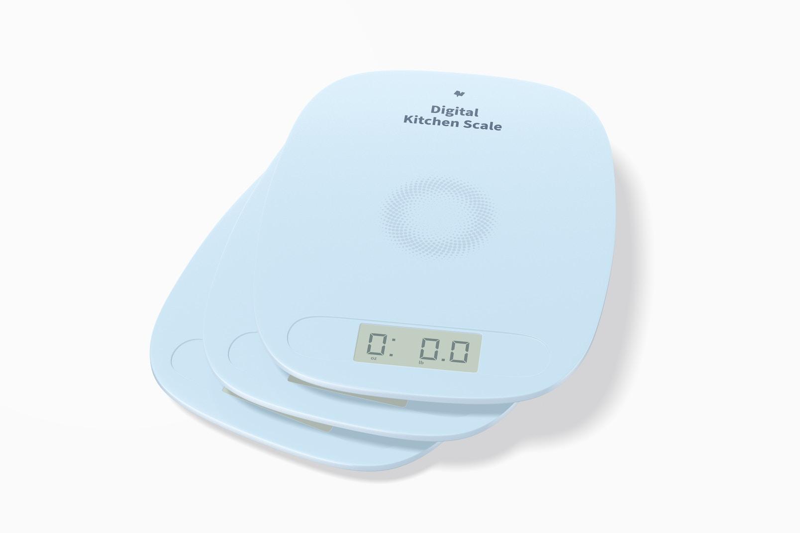 Digital Kitchen Scales Mockup