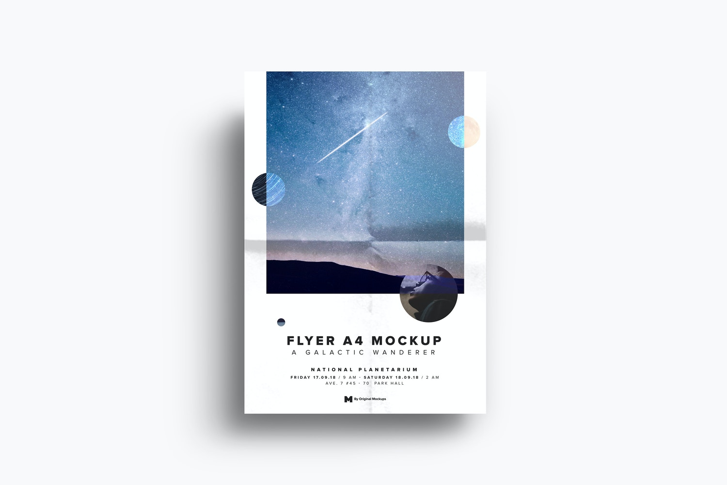 A4-A5 Flyer Mockup 02 by Original Mockups on Original Mockups