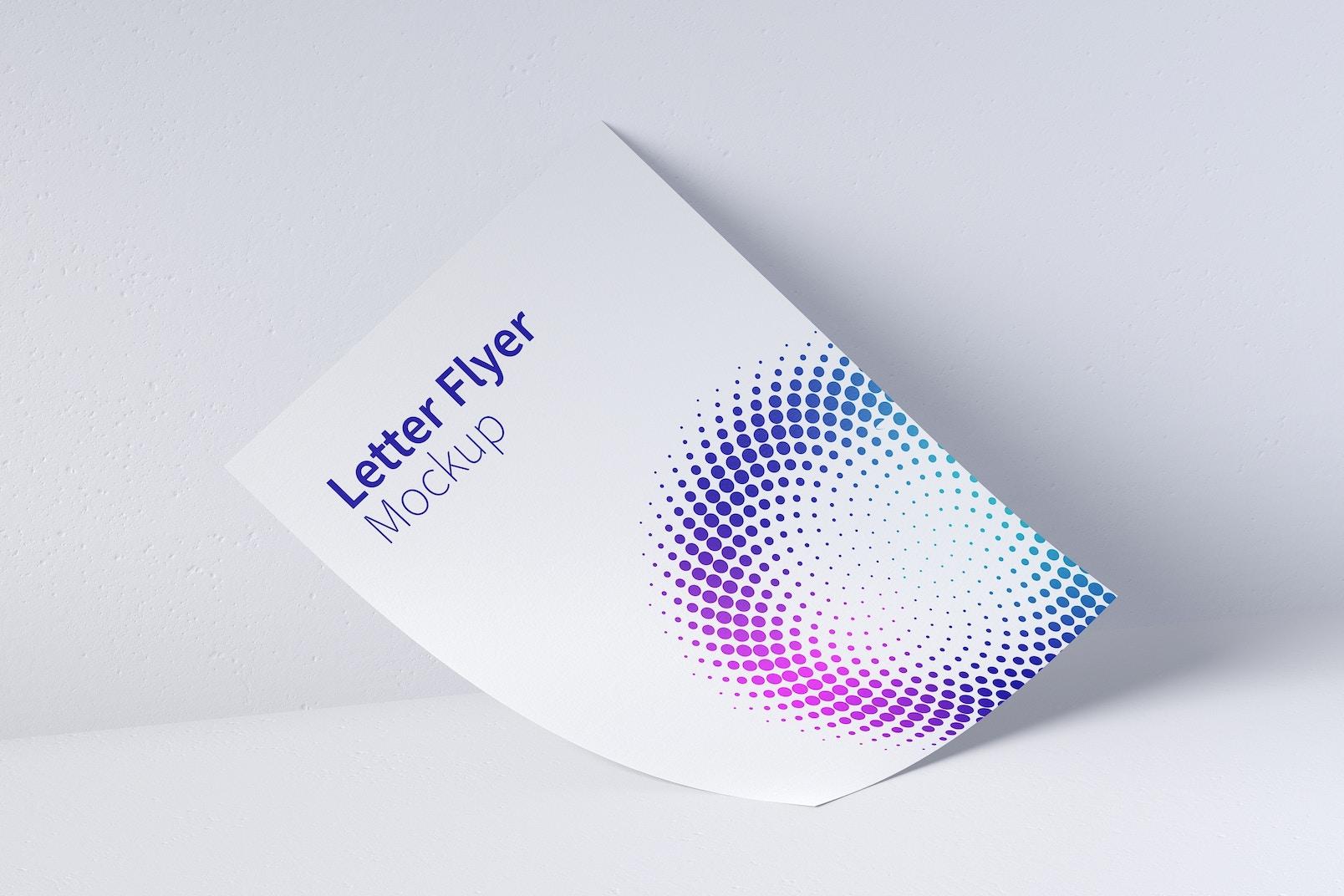 Letter Flyer Mockup 03