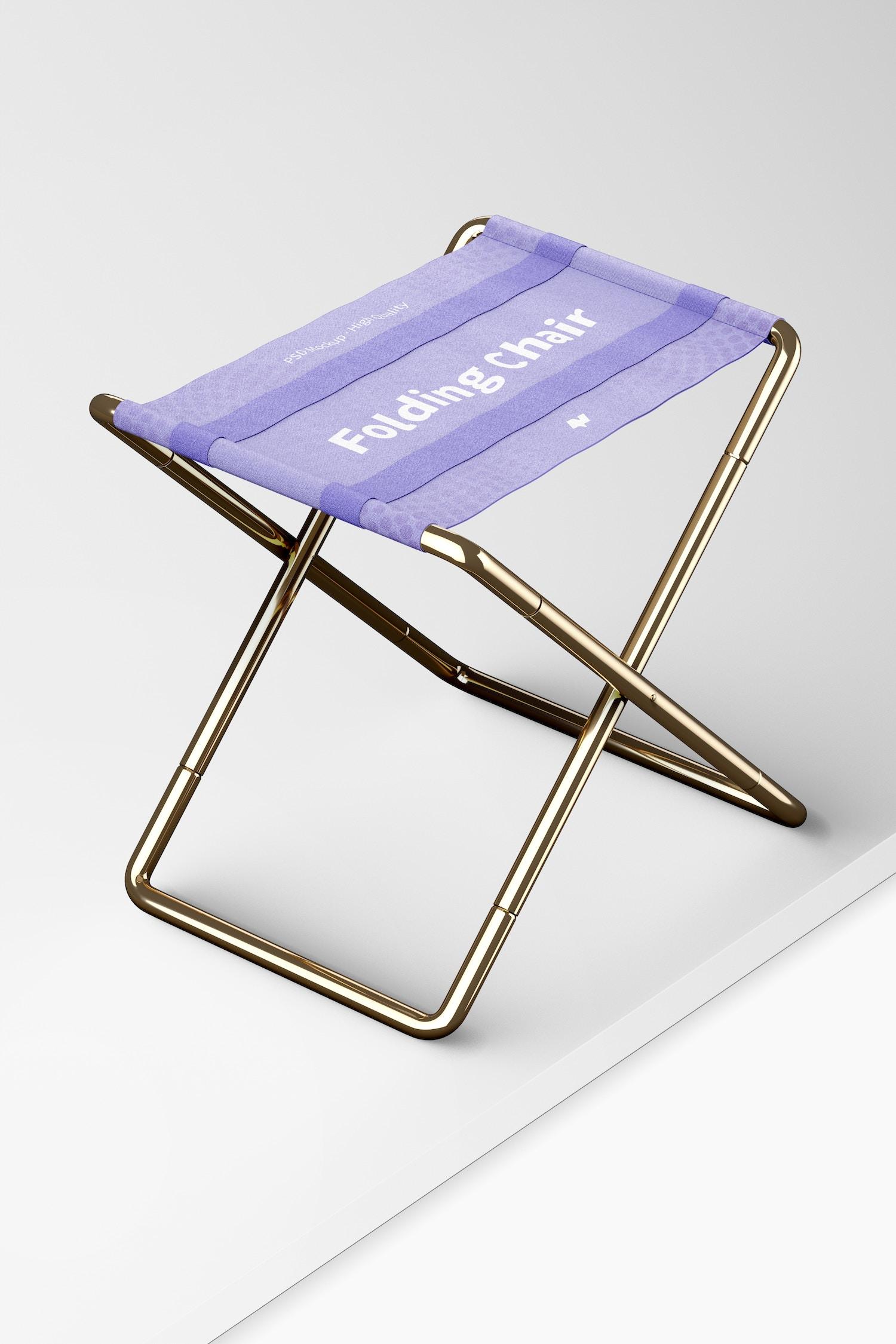 Folding Chair Mockup