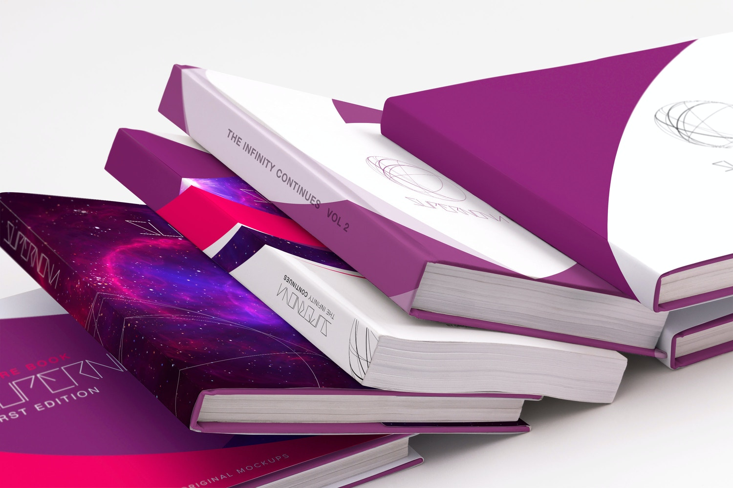 Others Books PSD Mockup 04 por Original Mockups en Original Mockups