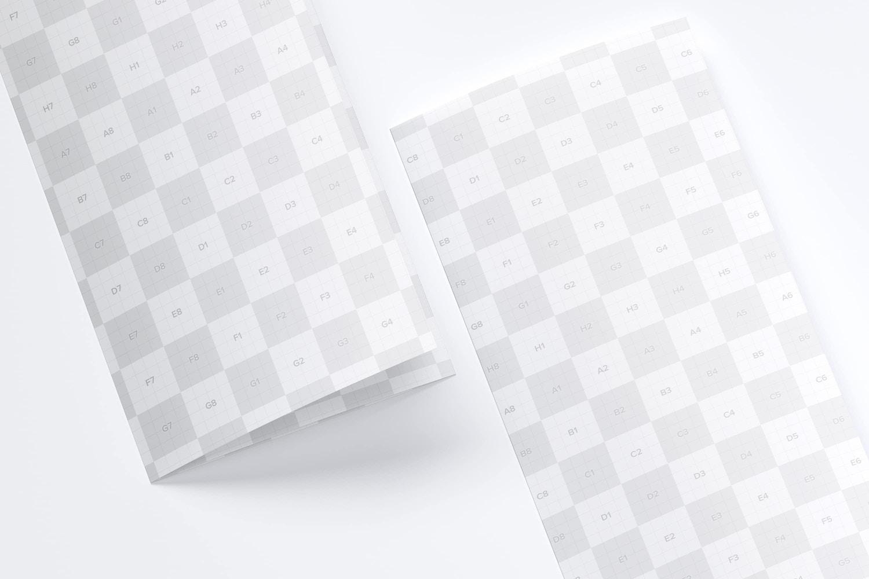 Maqueta de un Folleto A3 Tríptico 05 (3) por Original Mockups en Original Mockups