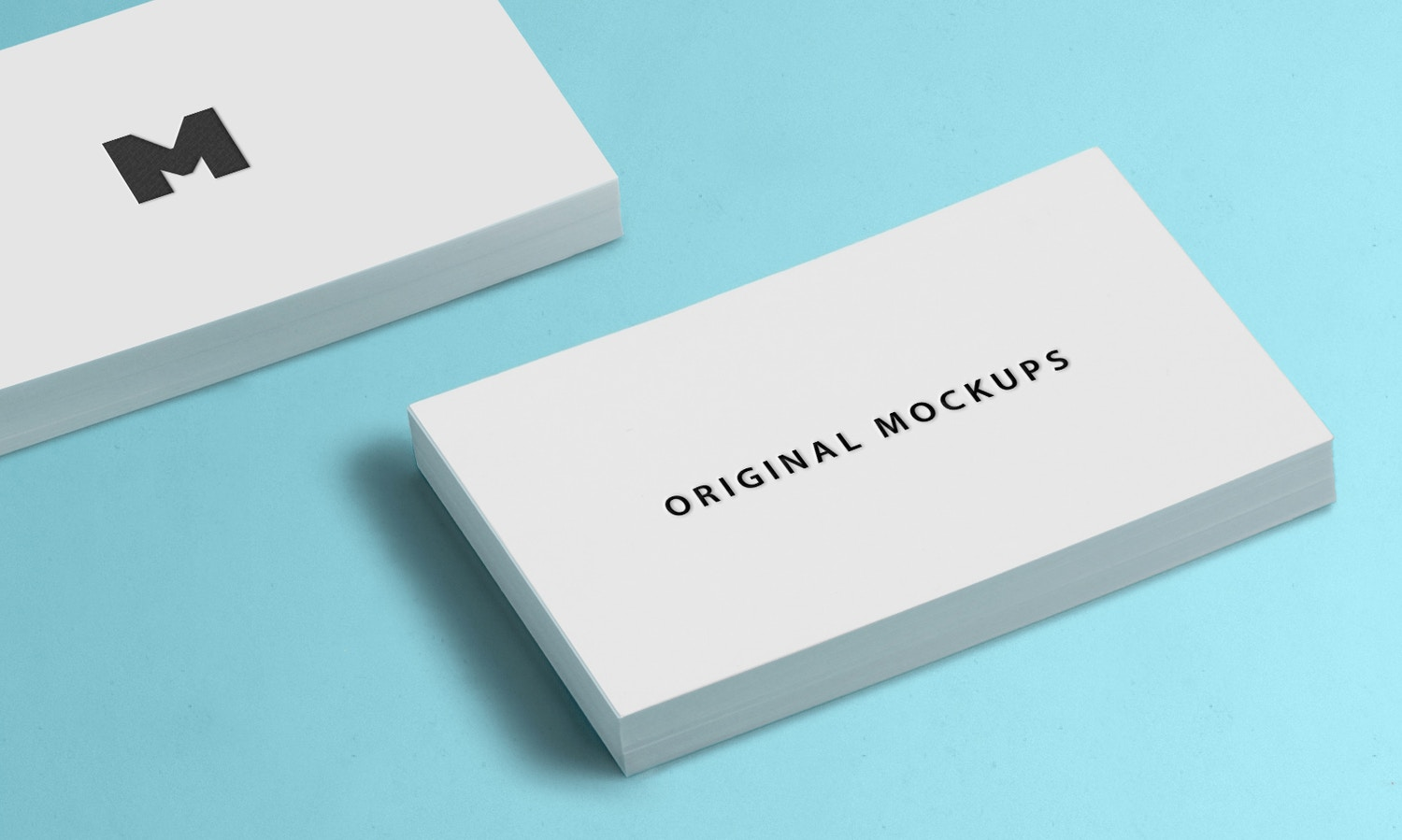 Business Card Mockup 03 by Original Mockups on Original Mockups