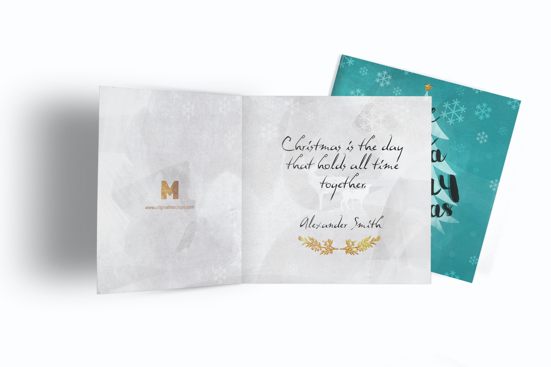 Greeting Card Mockup 05 by Original Mockups on Original Mockups
