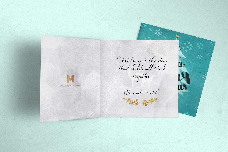 Greeting Card Mockup 05