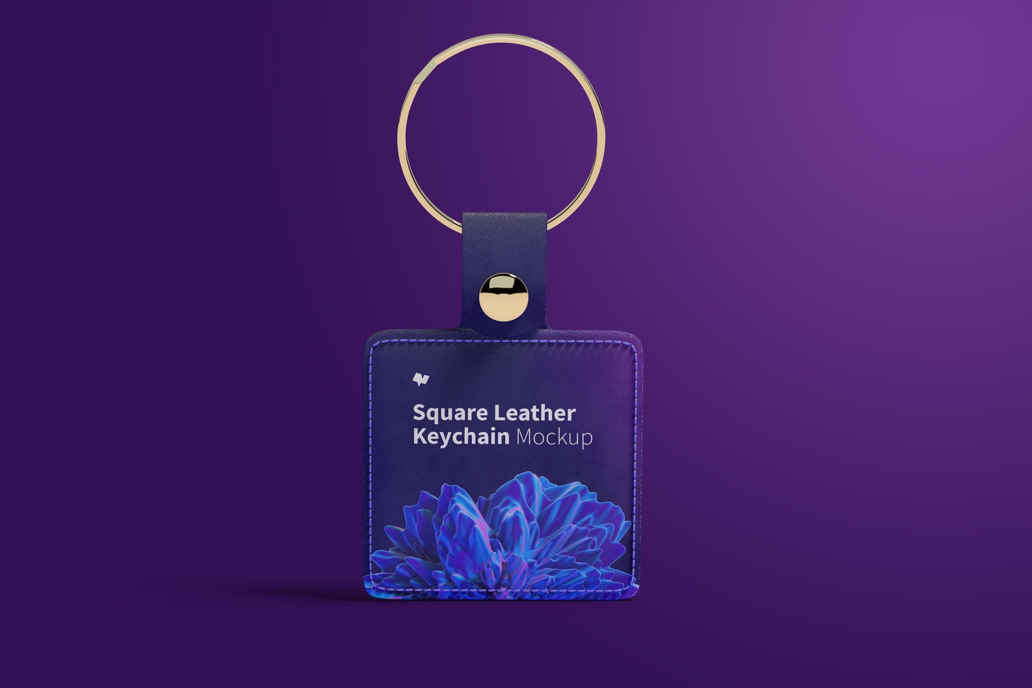 You have two options for the metallic area of the keychain. Be creative and make innovative combinations.