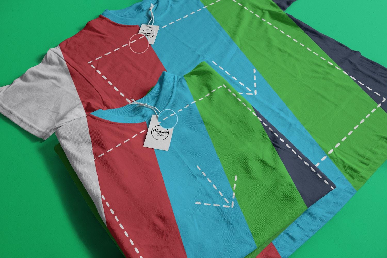 T-Shirts Mockup 05 (2) por Antonio Padilla en Original Mockups