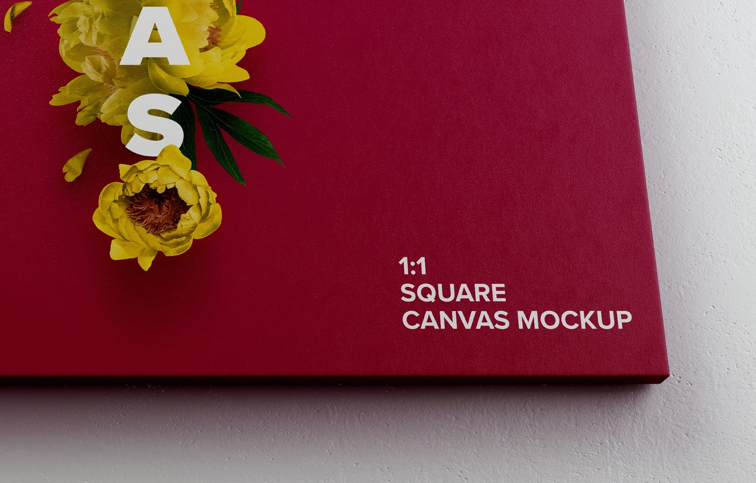 Close up to show you the texture of the mockup and expect a perfect view for your desing