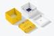 Cube Gift Boxes Mockup