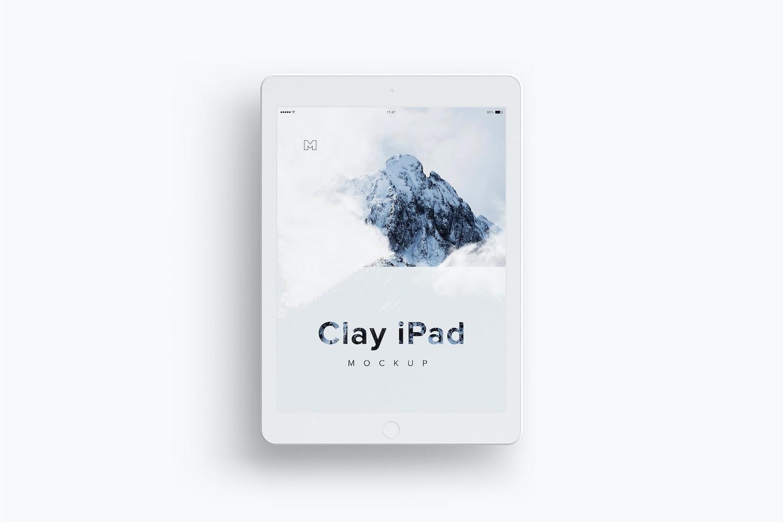 Clay iPad 9.7 Mockup 03