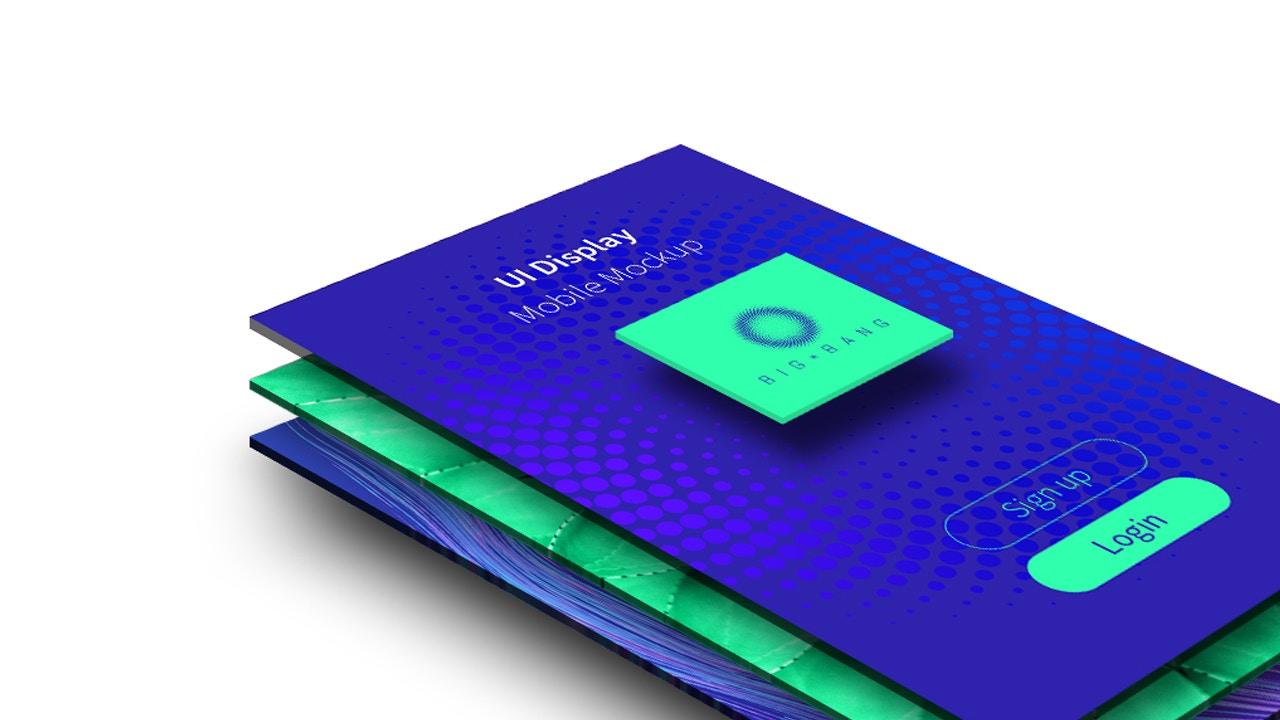 UI Design - Mobile Display Mockup 01 (3) by Original Mockups on Original Mockups