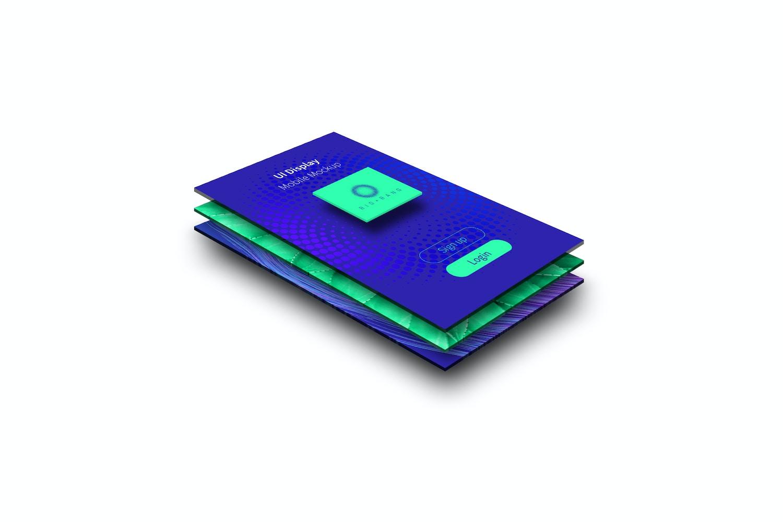 Diseño de Interfaz de Usuario - Maqueta de Pantalla Móvil 01 (1) por Original Mockups en Original Mockups