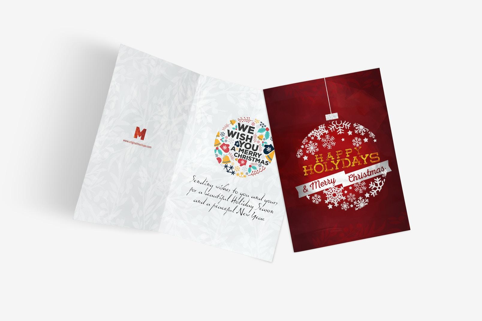 Greeting Card Mockup 06