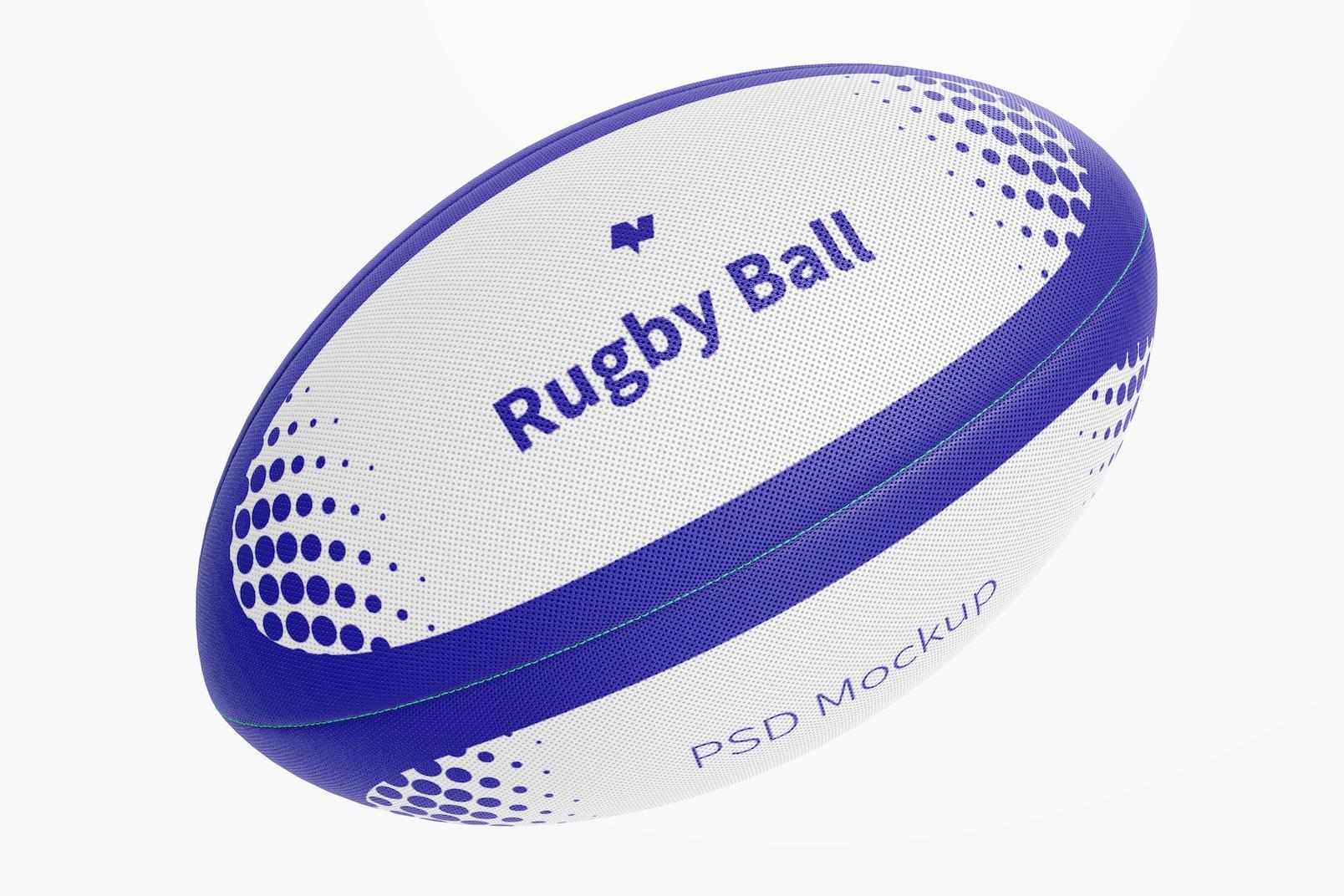 Rugby Ball Mockup