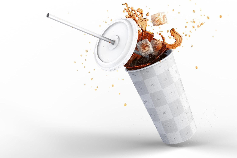 Soda Cup Mockup 01