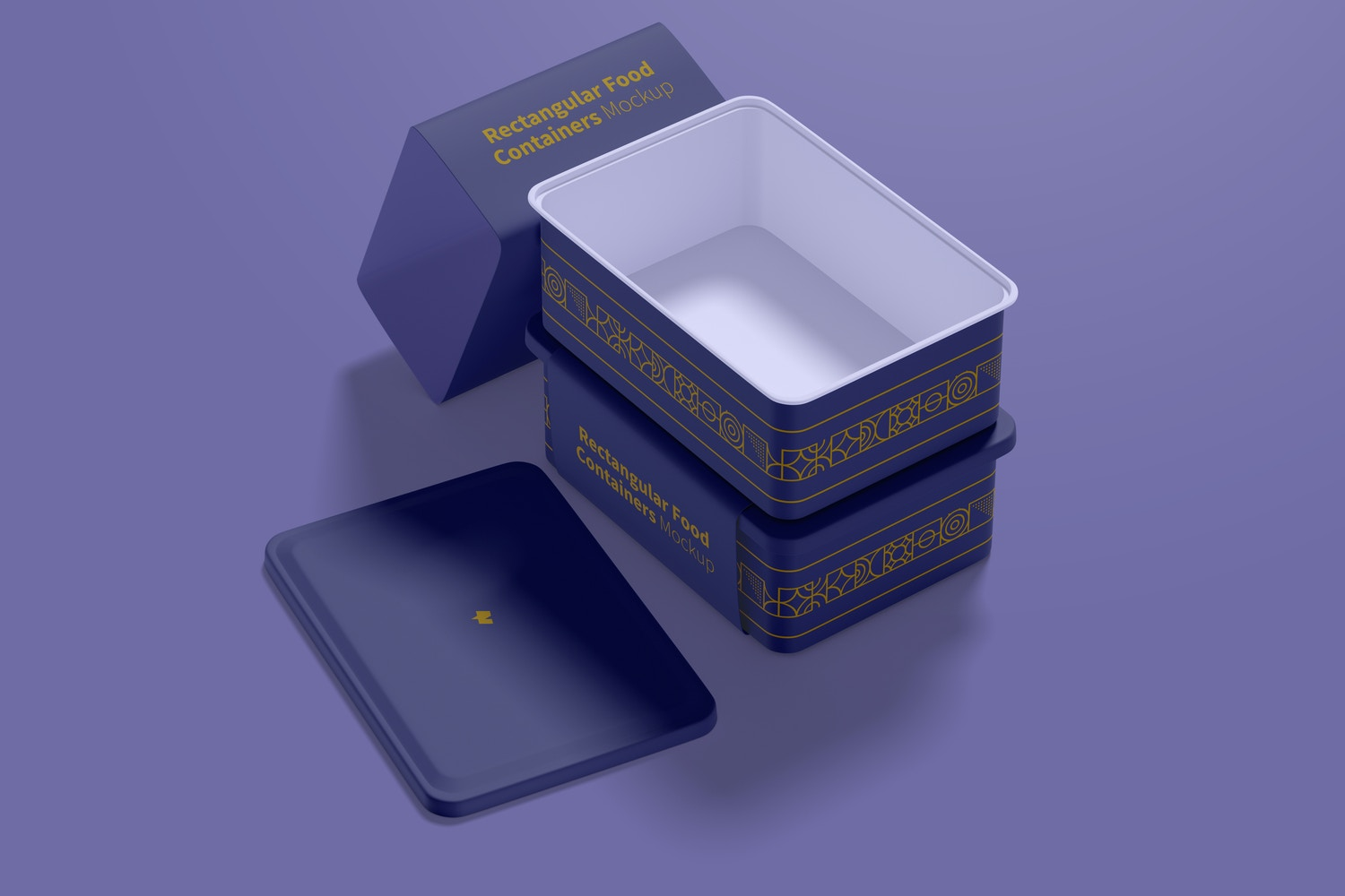 Note that although the container is plastic, it brings a paper area for you to display the brand product.