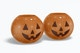 Ceramic Halloween Pumpkins Mockup