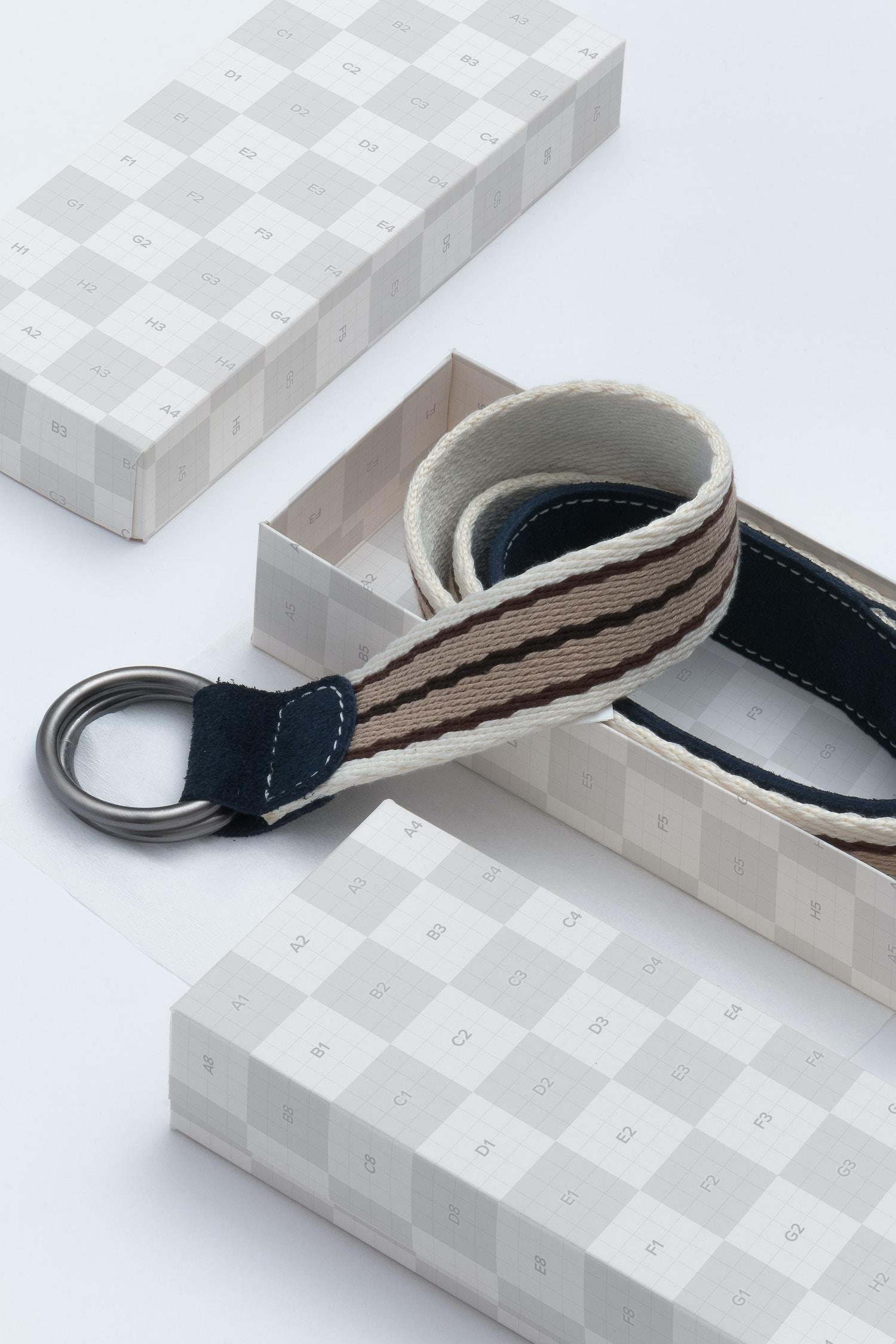 Rectangular Gift Box Mockup 01 by Ktyellow  on Original Mockups