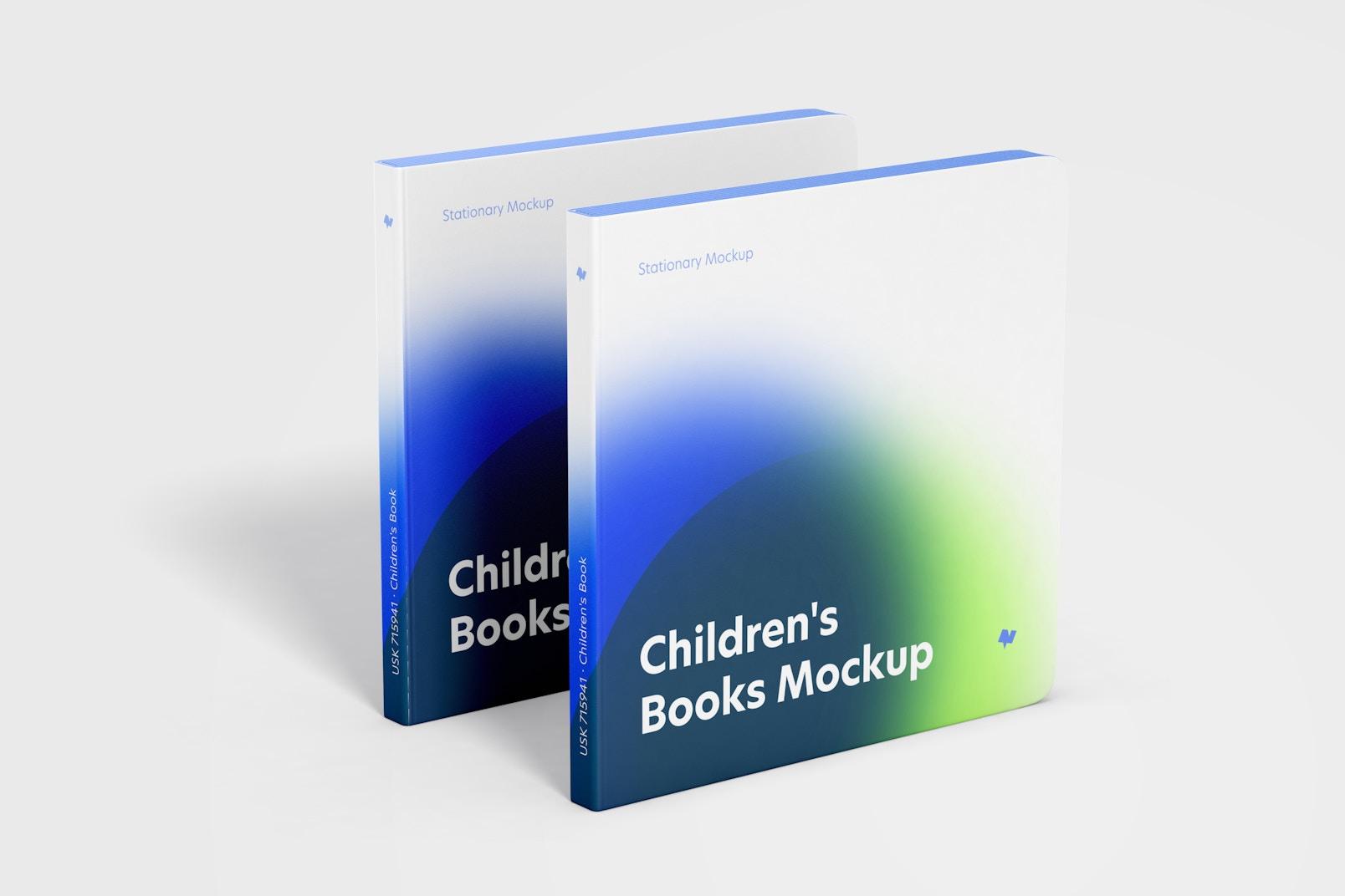 Children's Books Mockup