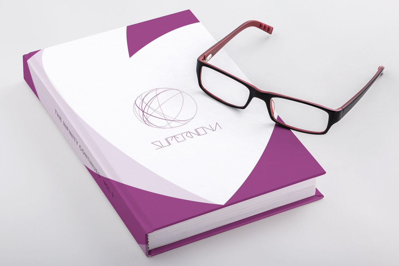 Hardcover Trade Book PSD Mockup 03