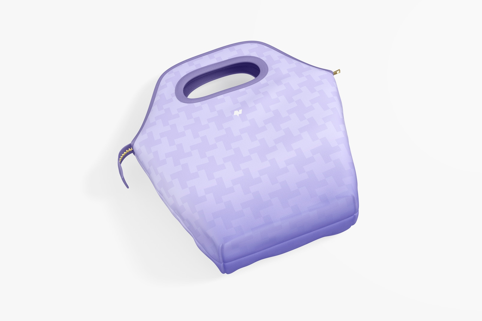Lunch Bag Mockup, Top View