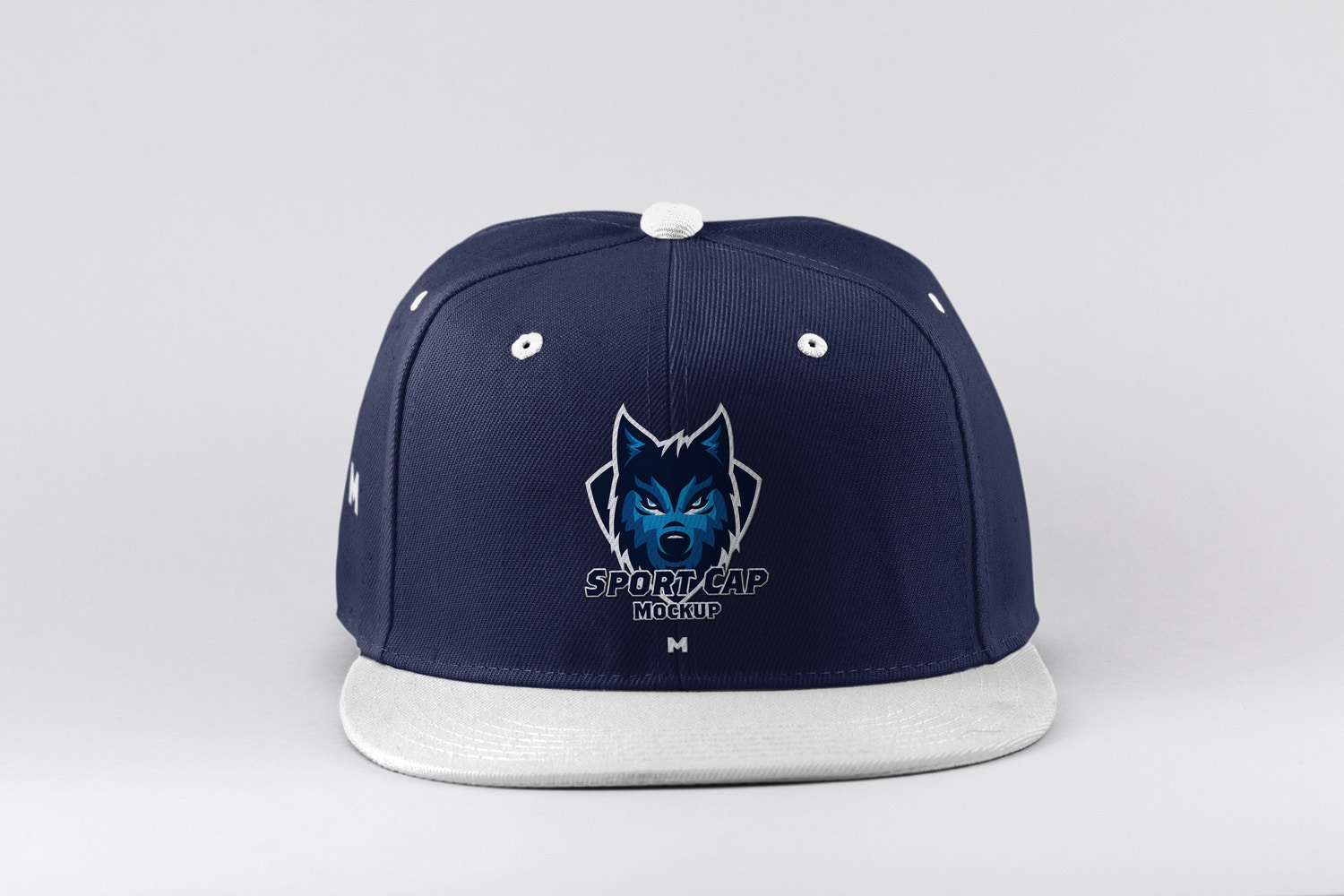 Sports Cap Front View Mockup by Original Mockups on Original Mockups