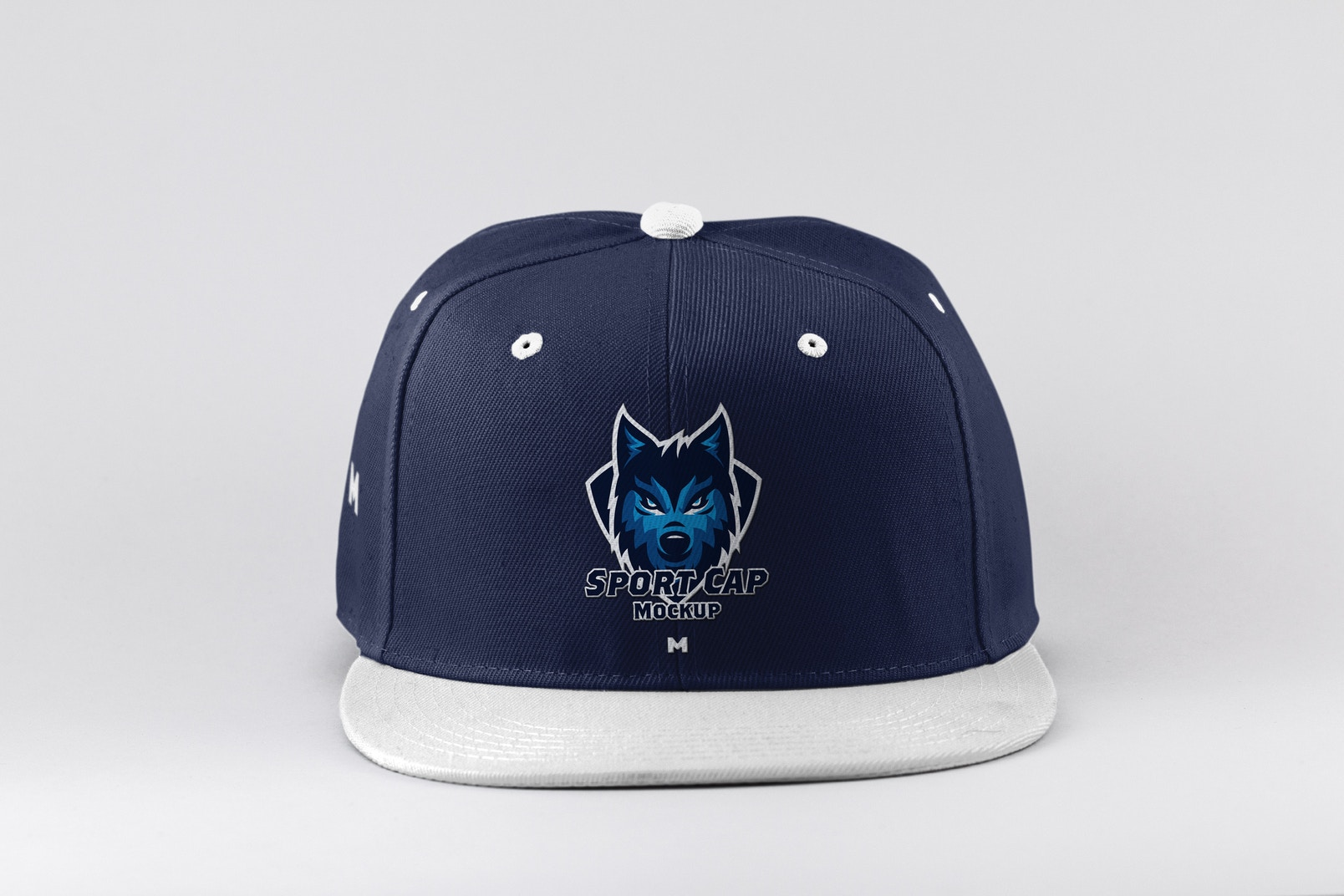 Sports Cap Front View Mockup