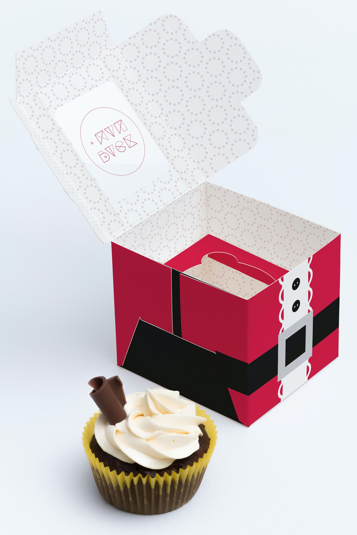 One Cupcake Box Mockup 02 by Ktyellow  on Original Mockups