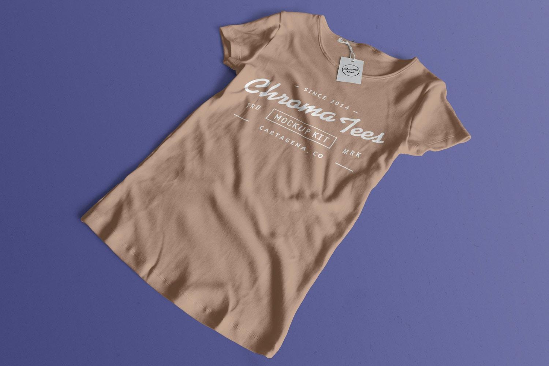 Woman Front T-Shirt Mockup 02 (1) by Antonio Padilla on Original Mockups