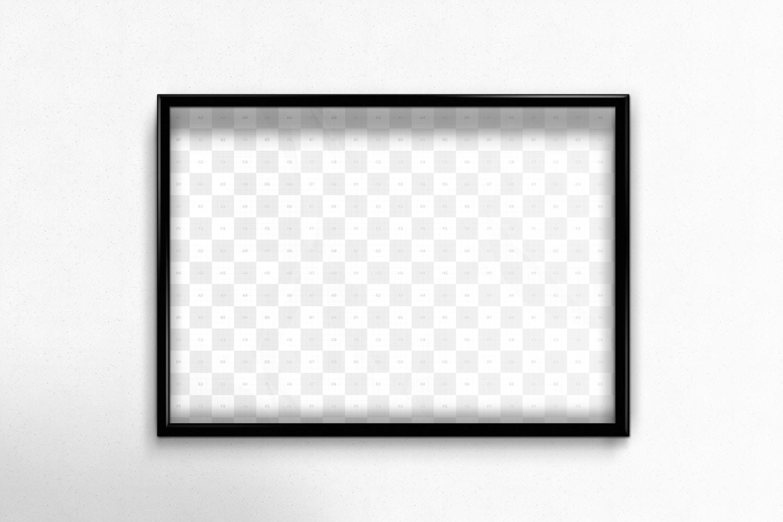 Flyer - Poster Frame Mockups (3) by Original Mockups on Original Mockups