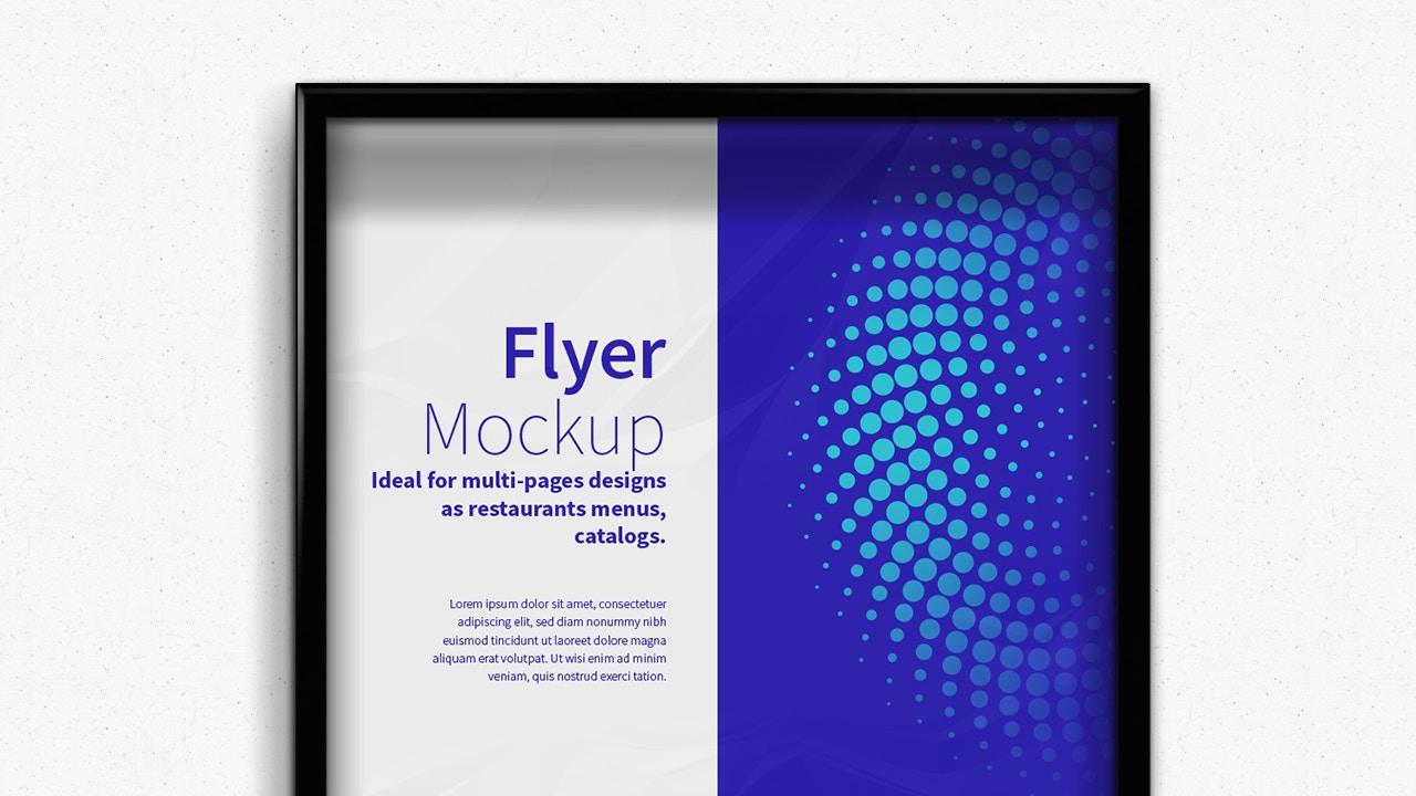 Flyer - Poster Frame Mockups (5) by Original Mockups on Original Mockups