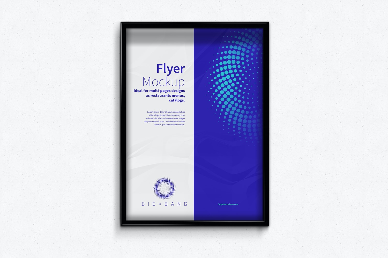 Flyer - Poster Frame Mockups by Original Mockups on Original Mockups