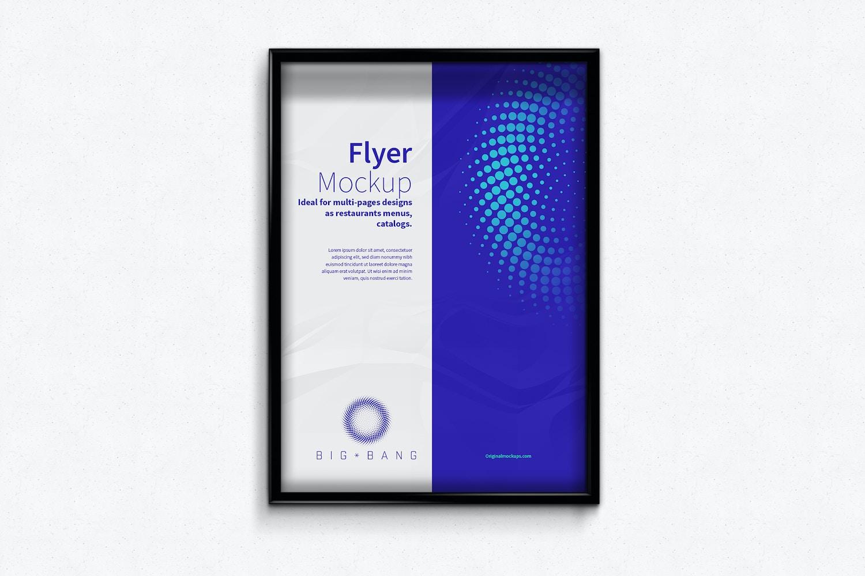 Flyer - Poster Frame Mockups (2) by Original Mockups on Original Mockups