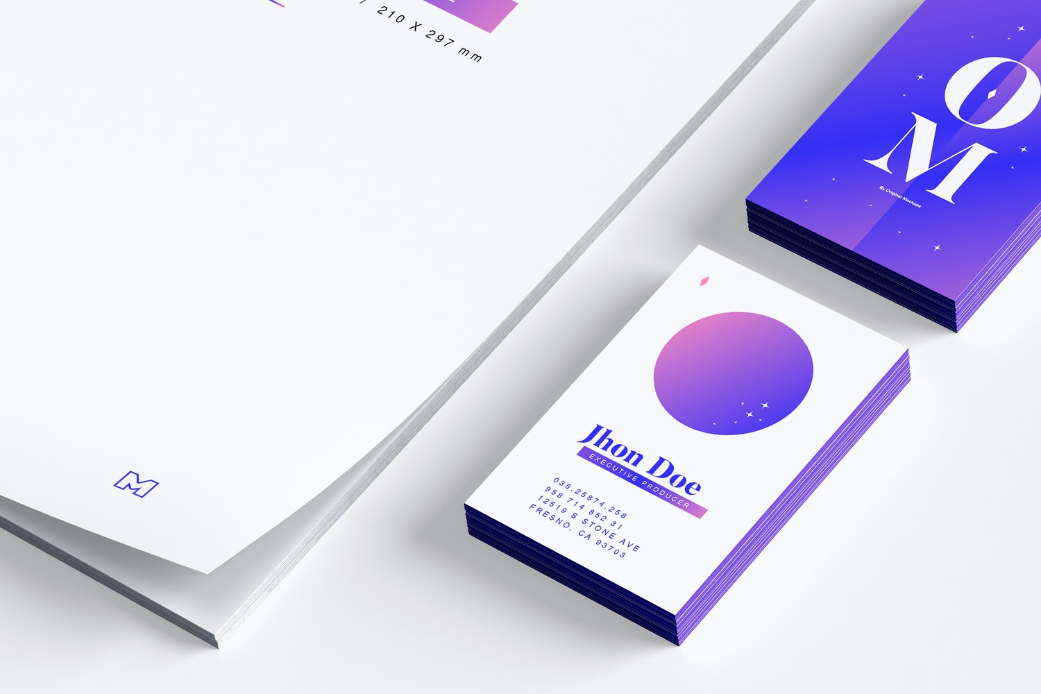 This mockup has a great resolution, take advantage of it.