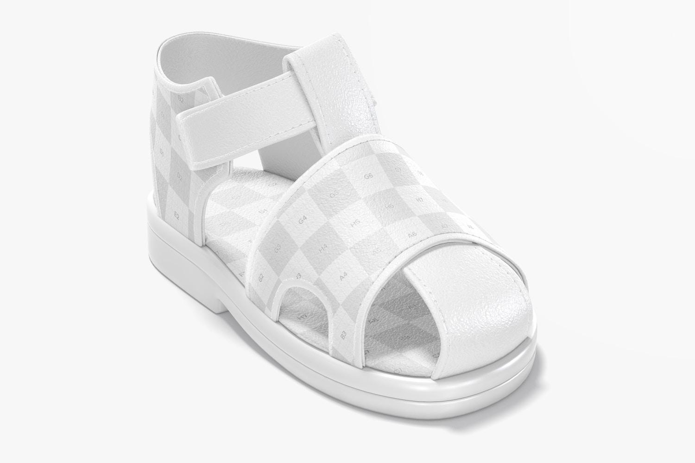 Baby Shoe Mockup