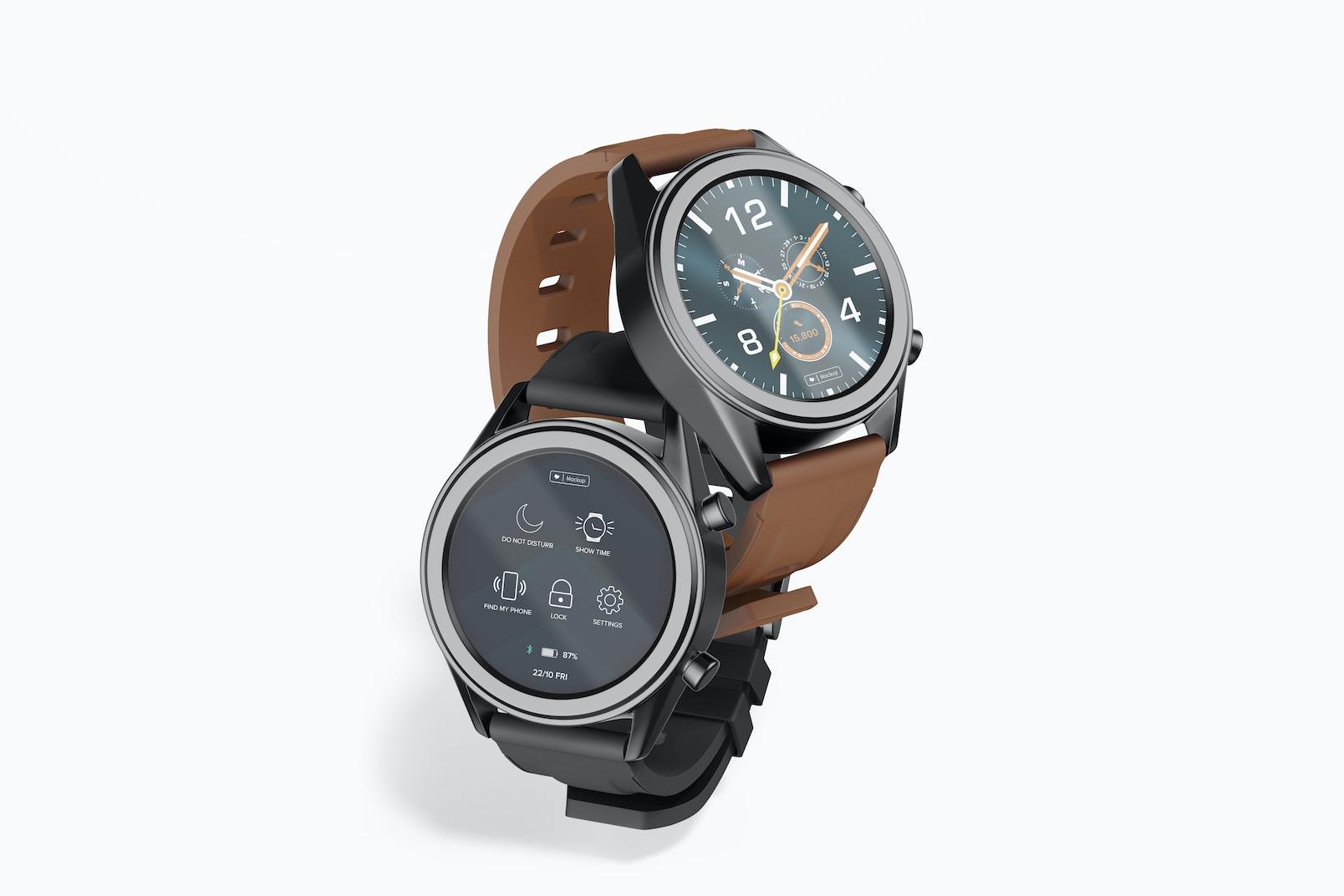 Huawei Watch GT Smartwatches Mockup