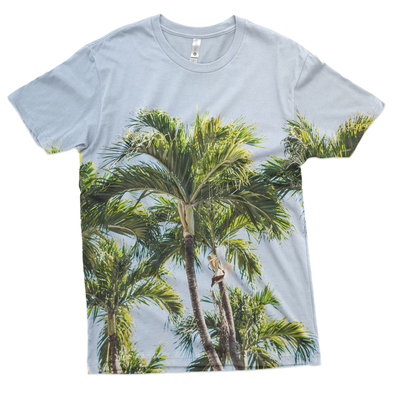Mens Short-Sleeve T-Shirt Mockups