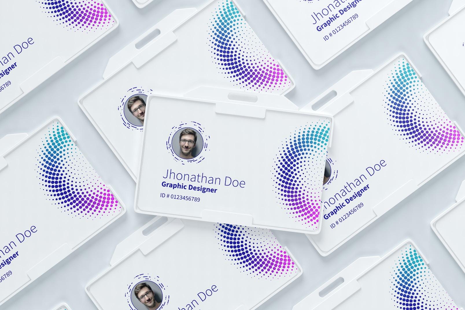 ID Card Mockup 01