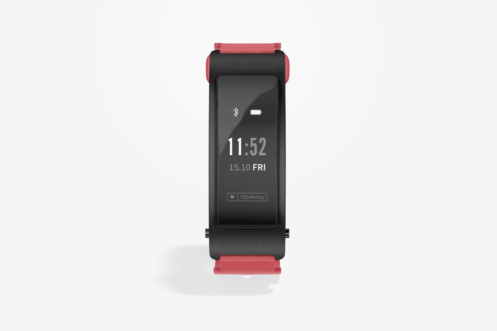 Huawei TalkBand B3 Smartwatch Mockup, Front View