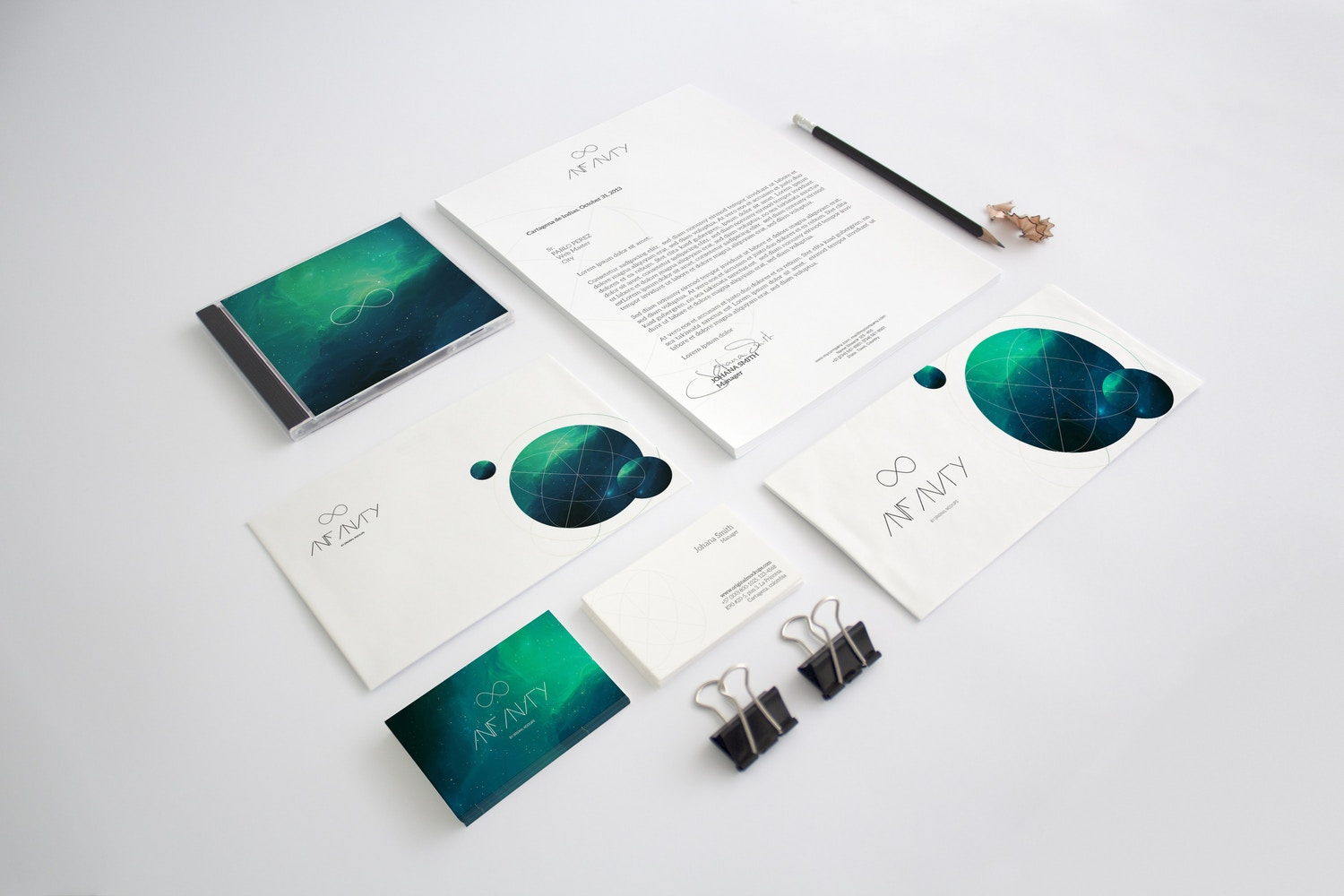 Stationery Mockup 2 by Original Mockups on Original Mockups