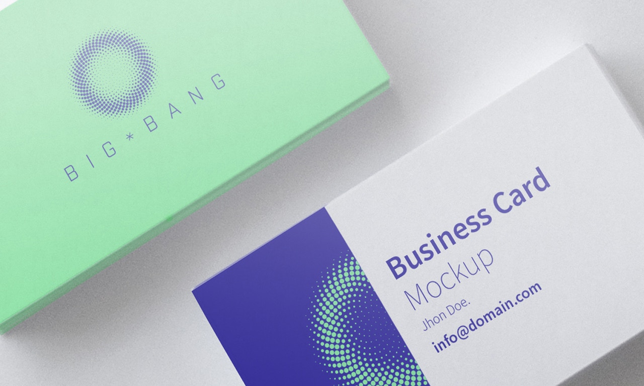 Business Card Mockup 01 (3) by Original Mockups on Original Mockups