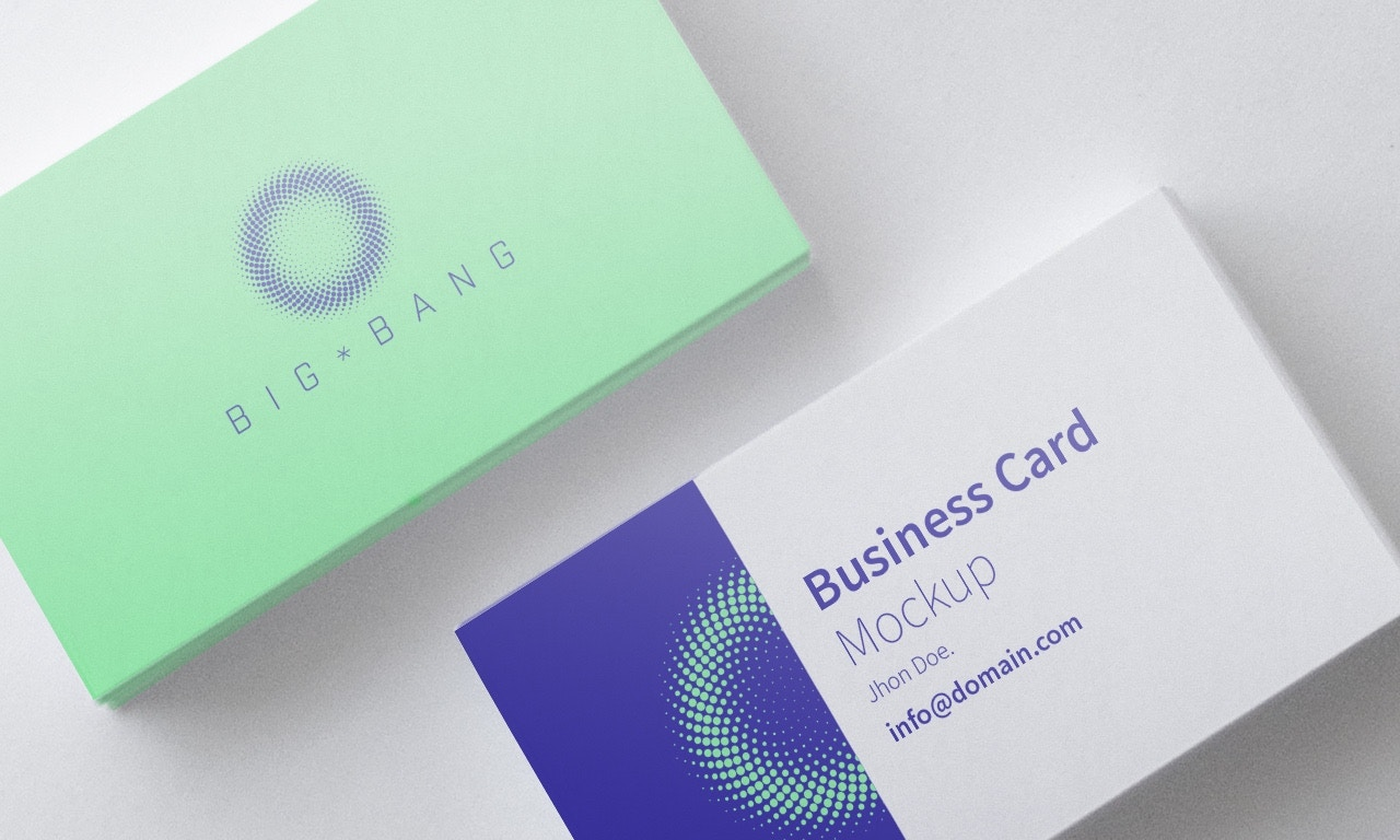 Business Card Mockup 01 (1) by Original Mockups on Original Mockups