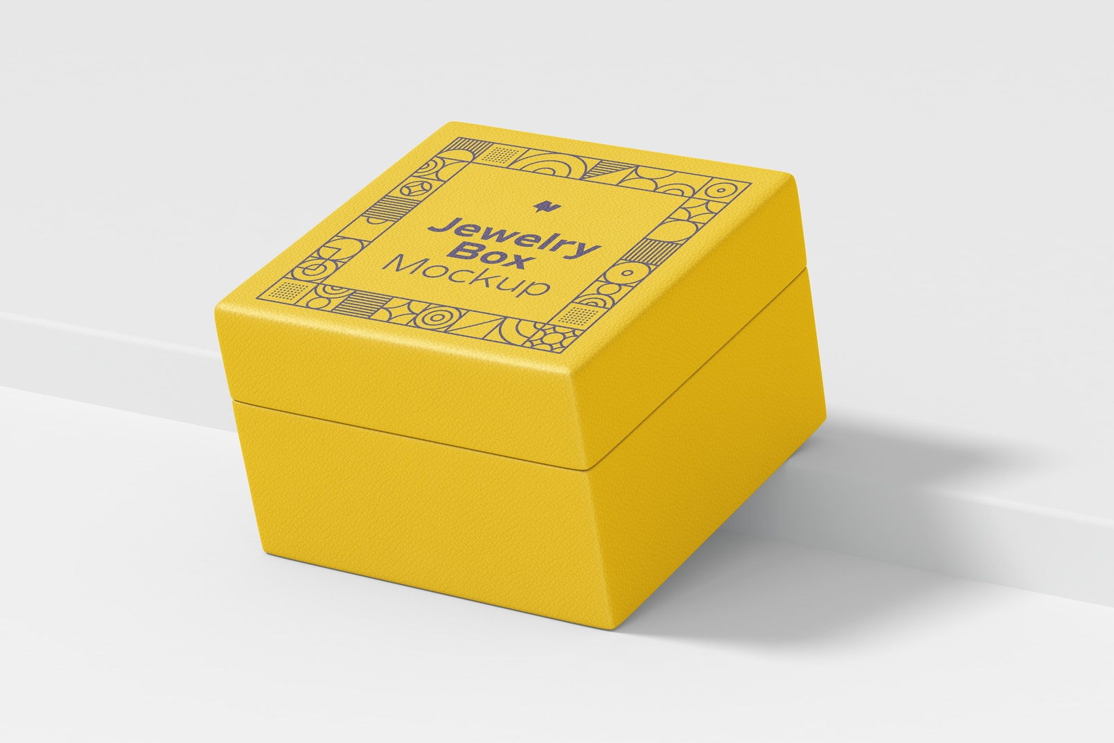 Jewelry Box Mockup, Perspective
